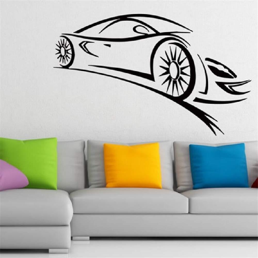 Etiqueta de la pared Etiqueta Engomada de vinilo Fórmula 1 Racing ...