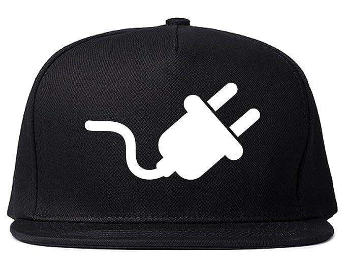 The Plug Dealer Dad Hat Snapback Hat Cap Black at Amazon Men s ... 2aec57ca0a1