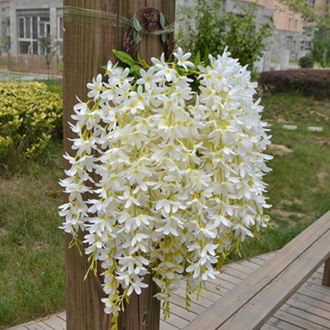 Decoración de Boda Que cuelga de Las Flores Artificiales