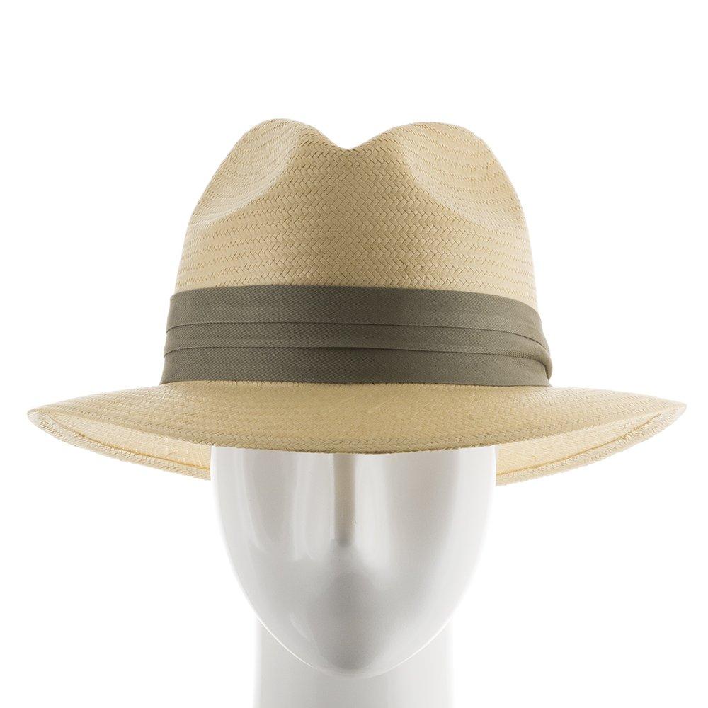 6fc442e0921 Ultrafino Monte Cristo Straw Fedora Panama Hat