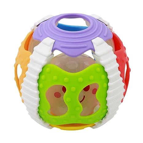 shungho bebé juguete bebé bola con luz intermitente y sonidos Glow ...