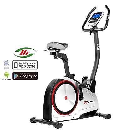 AsVIVA H17 _ P - Bicicleta estática ergómetro cardio, sistema ...