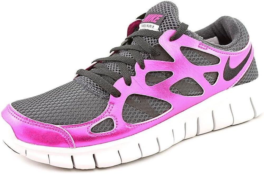 [ナイキ] Women 's Free Run 2 Prm Ext Running Shoes ブラック 8.5 B(M) US