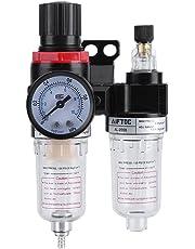 Zerodis Filtro de Aire 1/4 Pulgada Filtro De Aire Regulador del Compresor de aire