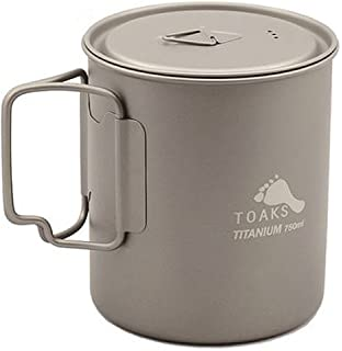 TOAKS Pot de 750/ml en titane avec anse