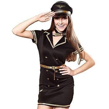 FIZZENN Disfraz de policía Sexy para Mujer Traje de Mujer ...