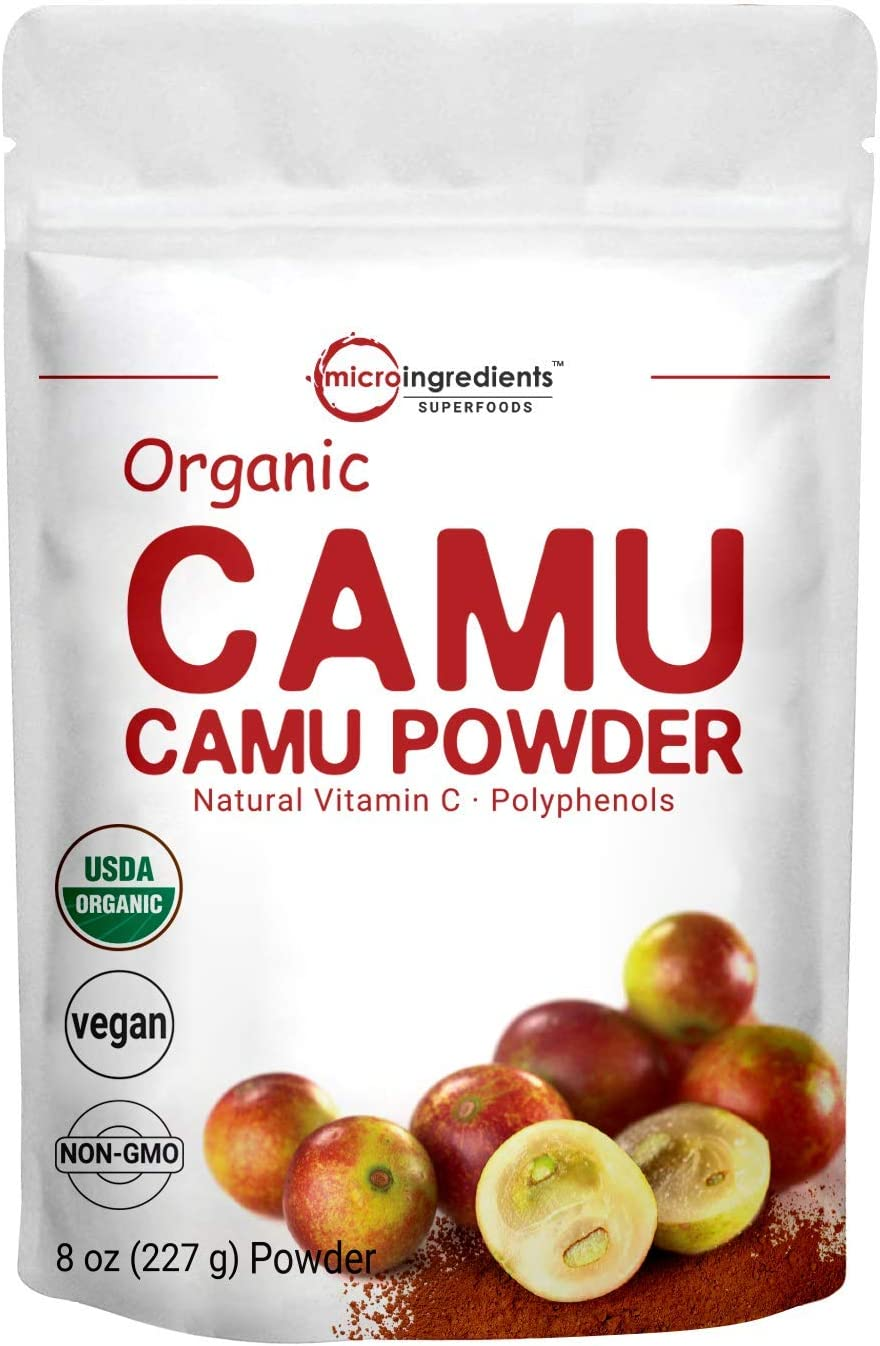 Amazon Com Peruvian Camu Camu Powder Organic Natural Vitamin C Supplement Powder 8 Ounce Strongly Supports Energy And Immune System No Gmos And Vegan Friendly Health Personal Care