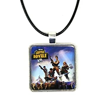 ARUNDEL SERVICES EU Collar Fortnite Fortnite Logo Collar Colgante de Metal Fortnite Logo Personalizado Fortnite Battle Royale Fortnite: Amazon.es: Bebé