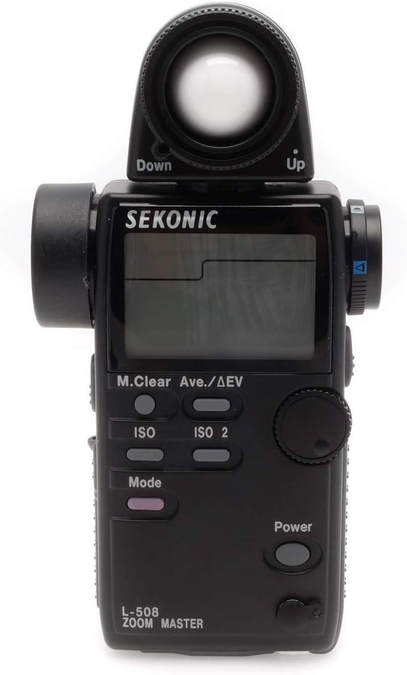 Spot and Flash Light Meter #401-508 Sekonic L-508 Zoom Master Digital Incident