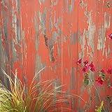 Timeline 954 Wood Skinnies, Wood Panels, New Orange, 11/32'' H x 5.5'' W x 47.5'' L, 6 Piece