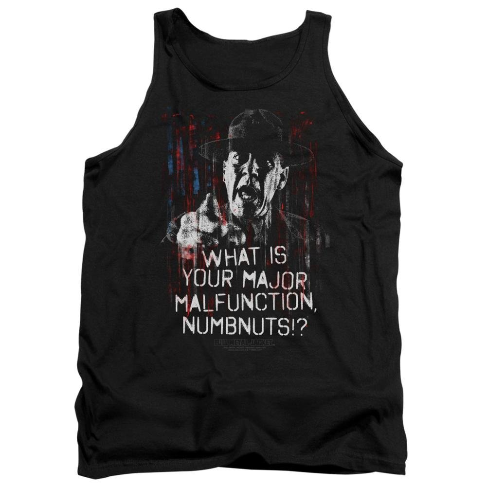 Tank Top: Full Metal Jacket/What Is You Malfunction Numbnuts? Size S