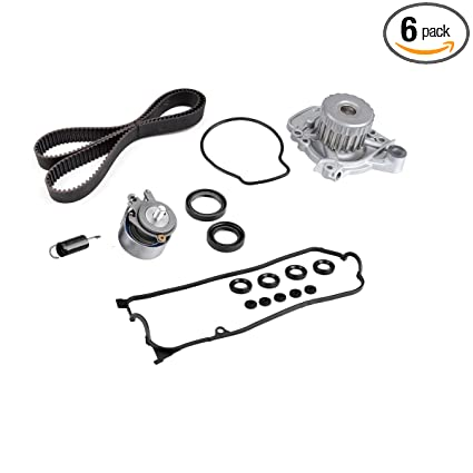 Timing Belt Water Pump With Vavle Cover Gasket Kit For Honda Civic DX EX GX  LX