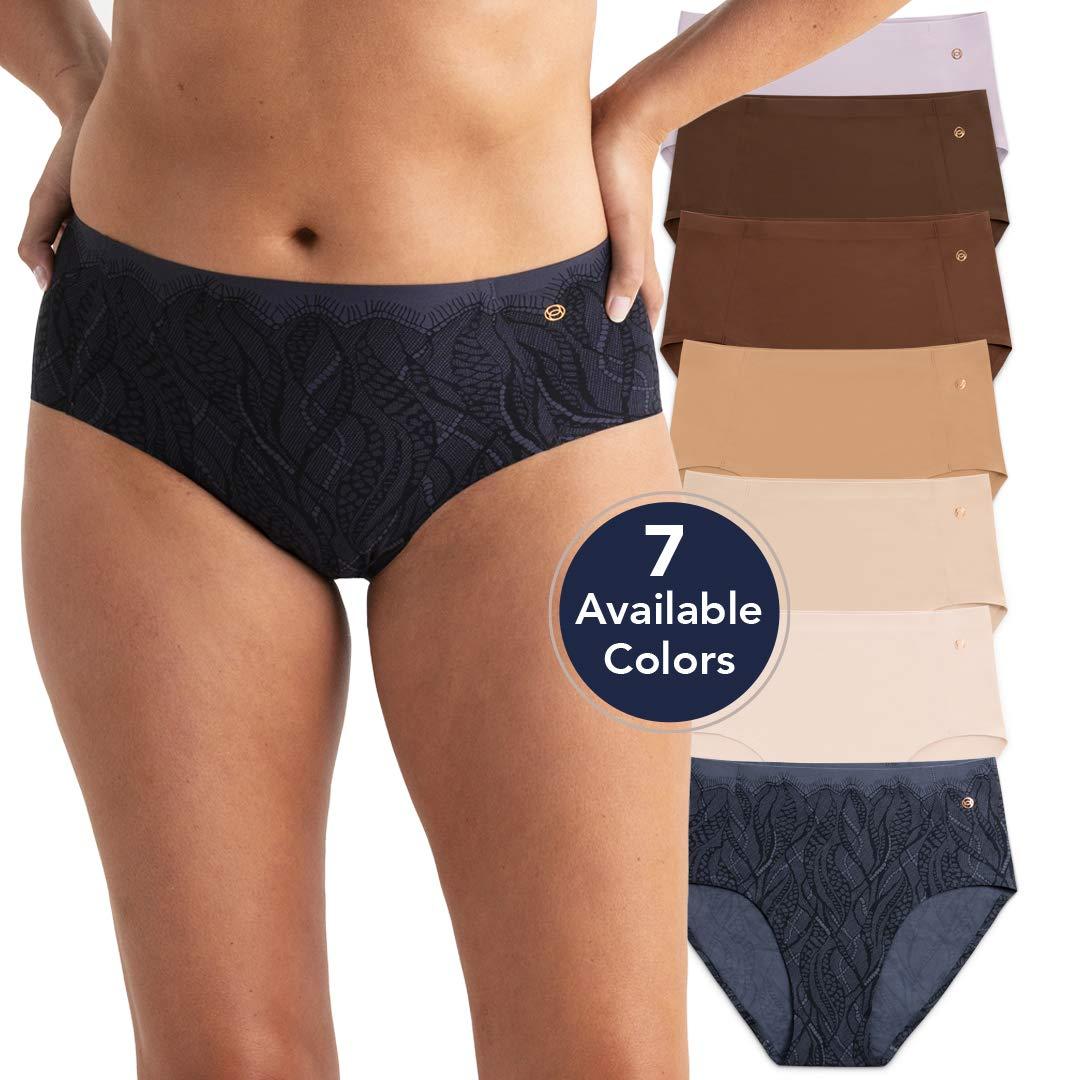 Evelyn /& Bobbie Women/'s Mid-Rise Retro Bikini Underwear Single Pair