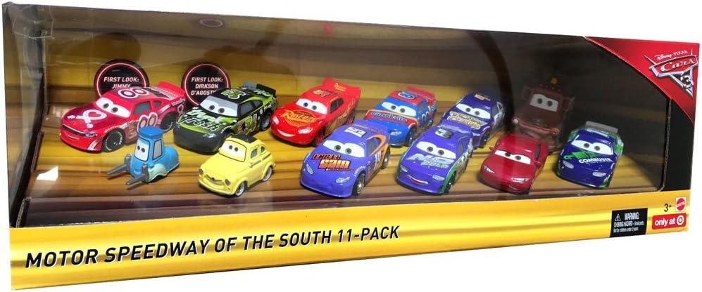 Mattel Disney Pixar Mcqueen OFFERTA Jackson Storm Cars 3 DESERT RACE 11 Pack