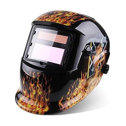 Acelectronic – Pro Solar Auto oscurecimiento soldadura casco tig mig Arc máscara de molienda máscara de