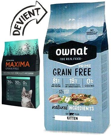 Ownat alimento seco para Gatos – 3 kg: Amazon.es: Productos para mascotas