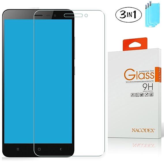 3x Xiaomi Redmi Note 3 / Remi Note 3 Pro Glass , Nacodex For Xiaomi Redmi  Note 3 / Pro [3 Pack] BallisticHD Tempered Glass Screen Protector