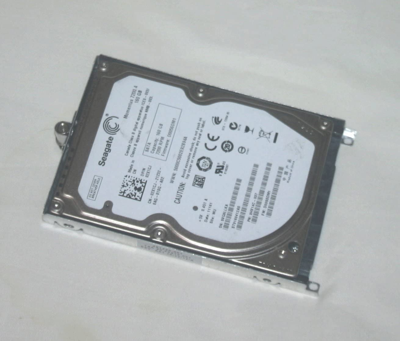 New 2TB Sata Hard Drive for HP ProBook 4421s 4515s 4710s 4720s 6550b