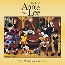 Shades of Color 2015 The Art of Annie Lee African American Calendar, 12 by 12 Inches (15AL)