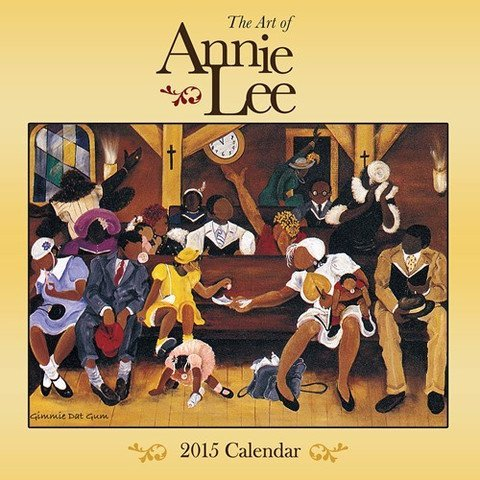 Books : Shades of Color 2015 The Art of Annie Lee African American Calendar, 12 by 12 Inches (15AL)