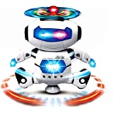 Riroad Electronic Walking Dancing Smart Space Robot Astronaut Kids Music Light Toys, Smart Robot kit