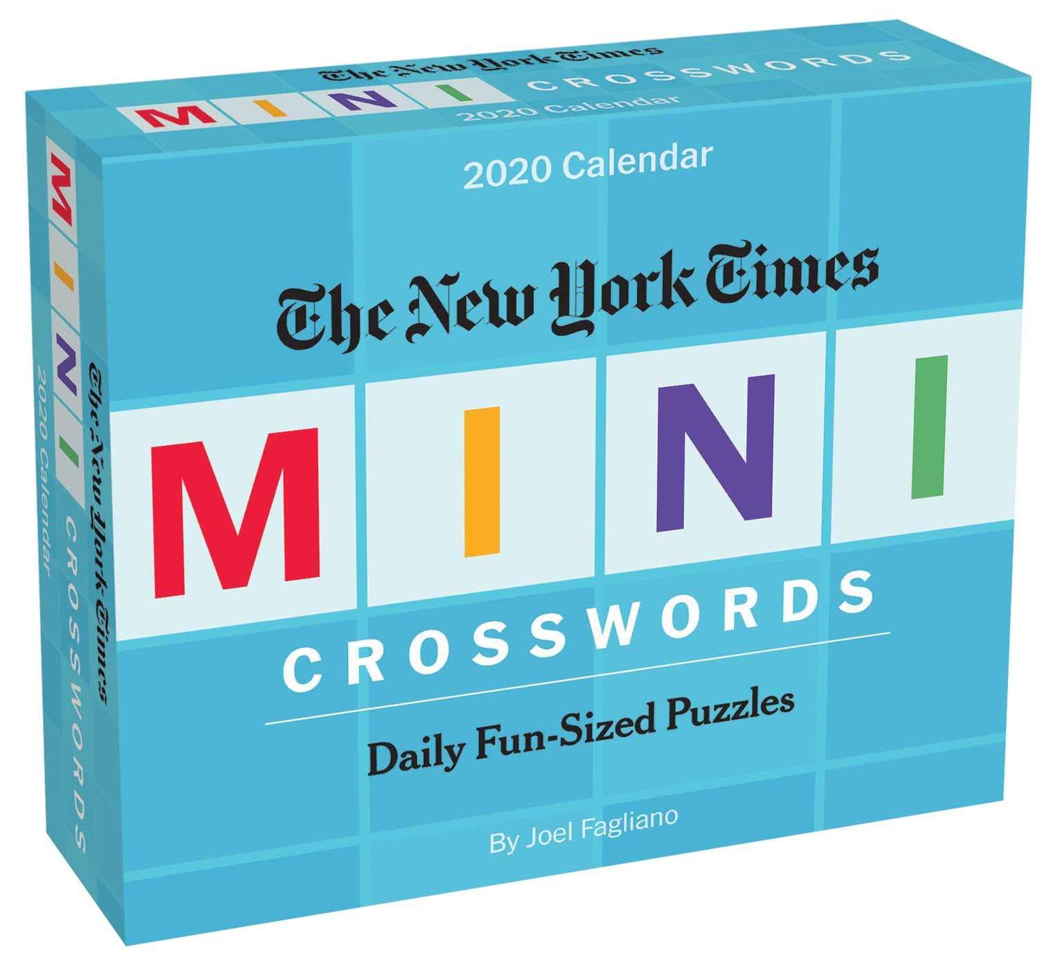 Box for The New York Times Mini Crossword Calendar