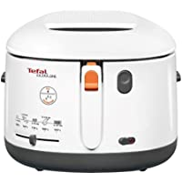 Tefal FF162140 Filtra One Deep Fryer, 1.2 kg Capacity, 1900 W, Exclusive Oil Filter, White