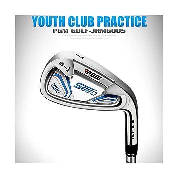 WHARMSS Golf para Niños 7# Irons Clubs, para Diestros, Eje ...
