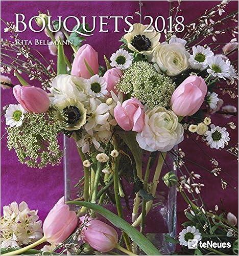 Bouquets 45 x 48 Wall Calendar 2018 B01N1WJ1K8