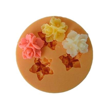 Amazon Longzang F031 Fondant Flowers Silicone Sugar Craft Mold