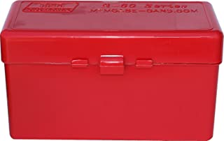 product image for MTM RL-60-30 Case-Gard 60-Round Rifle Flip-Top for .220 Swift to 458 Win (Red)