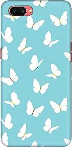 Stylizedd Oppo A3s Slim Snap Basic Case Cover Matte Finish - Fluttering Butterfly