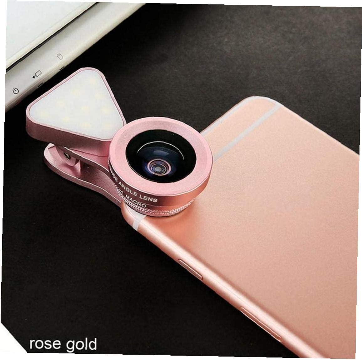 Enlace Cara del Tel/éfono De La Lente 0.6X Gran Angular De 15x Super Macro Lente Selfie Lente De La C/ámara Luz del M/óvil para El Tel/éfono M/óvil Todos