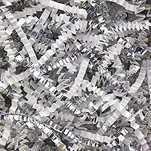 Amazon Com 2 Pound Crinkle Cut Paper Shred Metallic
