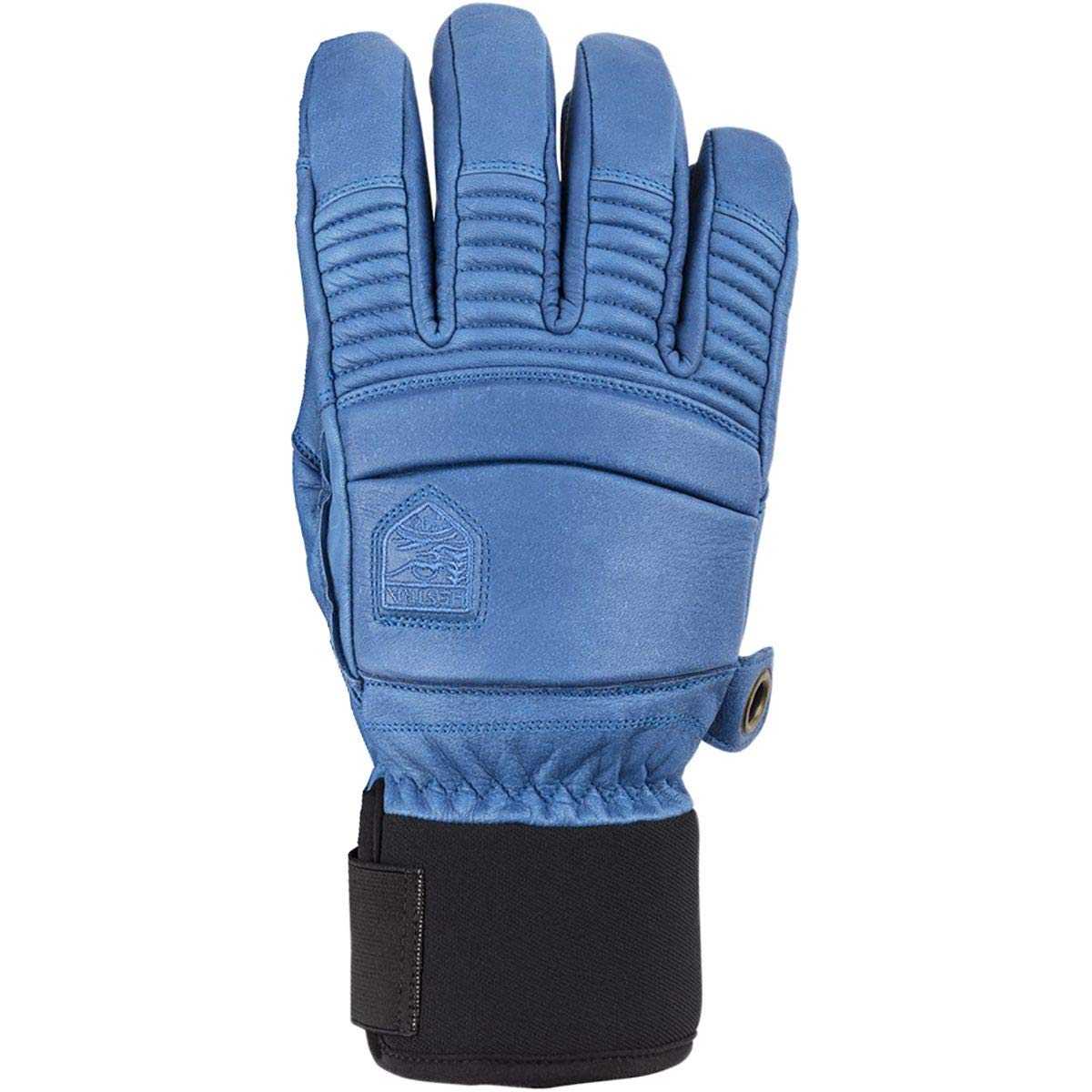 Hestra Men's Leather Fall Line 5 Finger Gloves - Royal Blue - 7 by Hestra