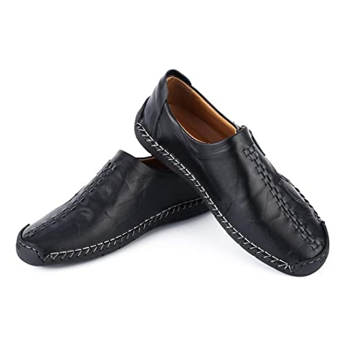 1 par de Zapatos de tacón Plano sin Cordones de Moda Mocasines Blandos Zapatillas de Ocio