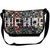 Hip Hop Casual Adjustable Strap Shoulder Bag - Crossbody Sling Messenger Bags