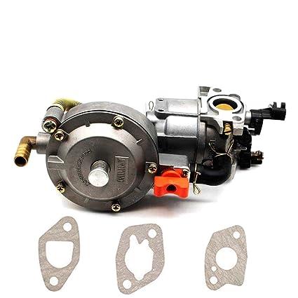 Amazon.com: partman Carburador para Honda GX160 168F 2 KW ...