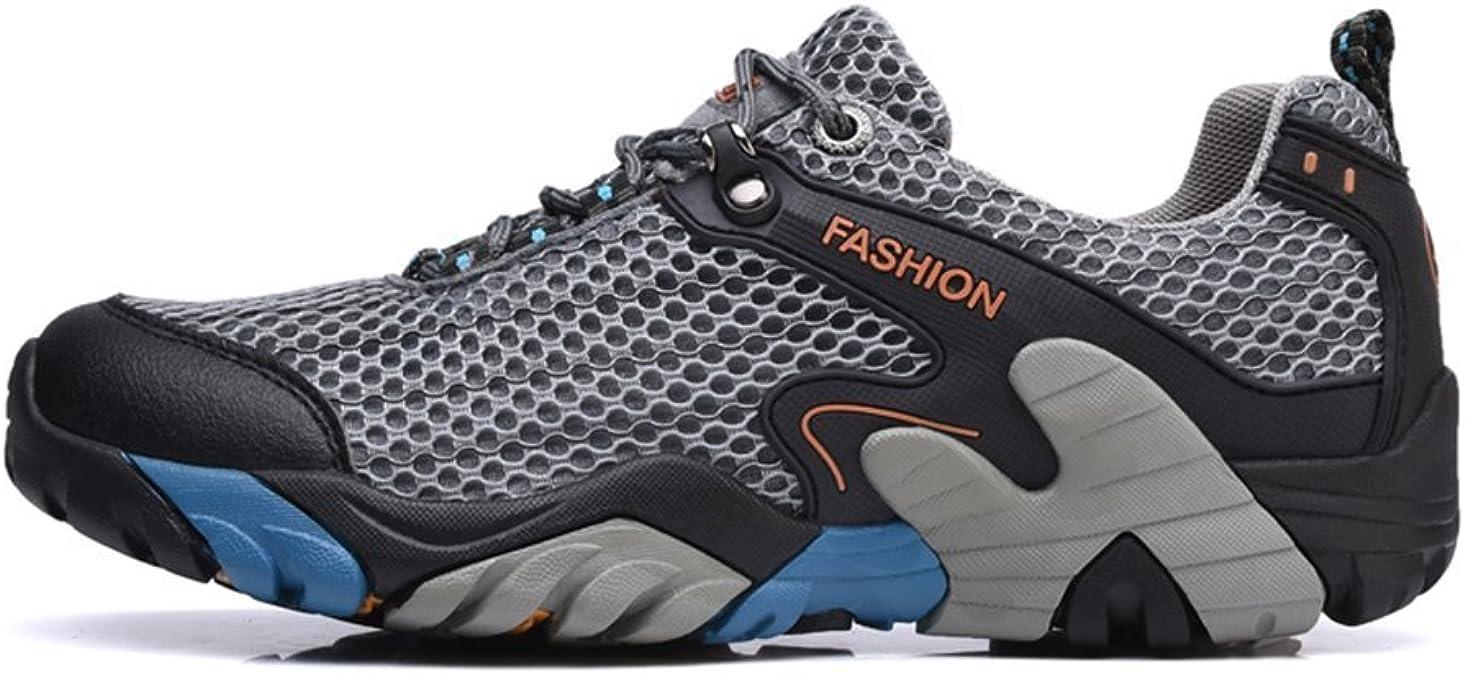 Brfash Chaussures de Randonn/ée pour Hommes en Plein Air Imperm/éable Respirant Marche Trekking Sneakers pour Hommes