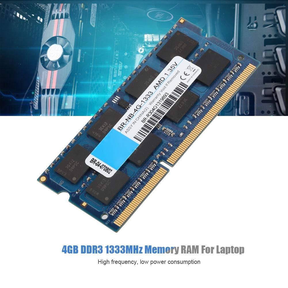 Wendry Memoria RAM para computadora portátil, 4GB DDR3 ...