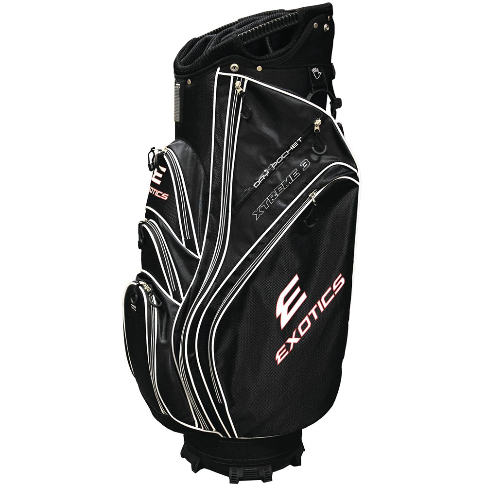 Exotics Xtreme3 Cart Bag Blk B014A1NV8M