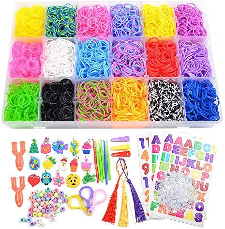Rainbow Rubber Refill Bracelets Include product image