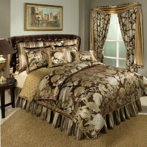 Austin Horn Classics Wonderland Bedding Collection, 4-Piece, King (Bedskirt Austin)