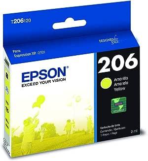 Epson Cartucho De Tinta Color Amarillo Para Xp-2101, T206420