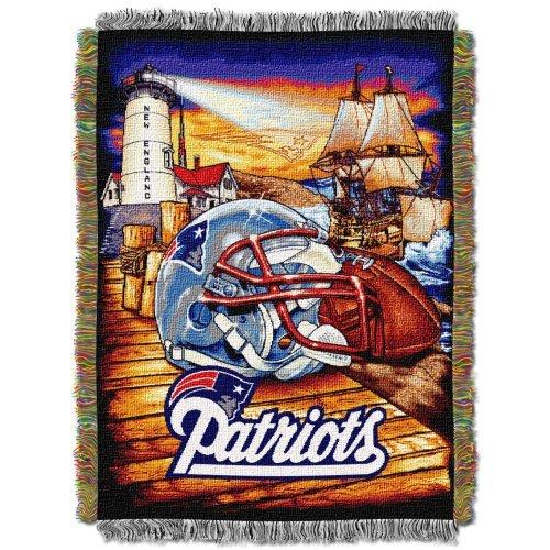 England New Tapestry Patriots (Northwest NFL New England Patriots Acrylic Tapestry Throw Blanket)