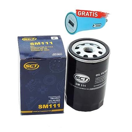 Original SCT Alemania aceite Sm111 + Cargador De Coche ...