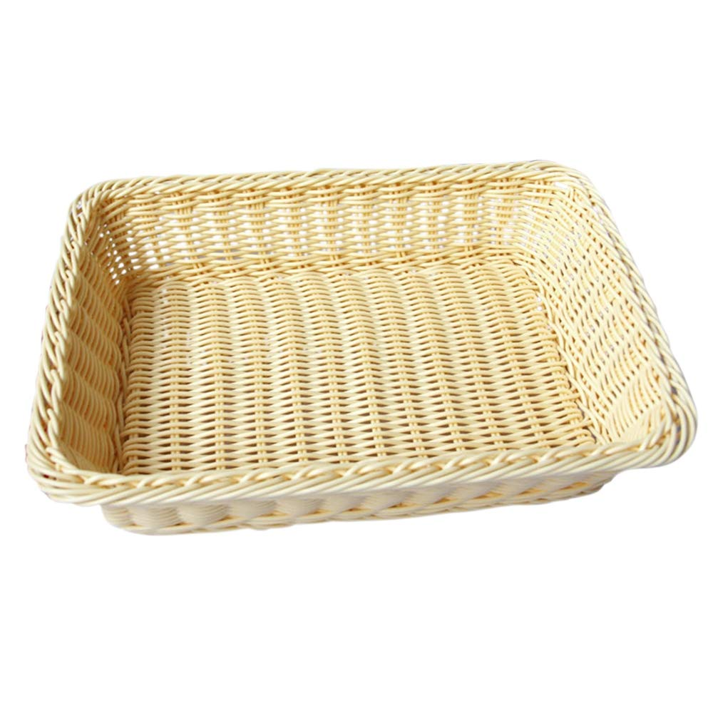 ReFaXi Rattan Basket Oval Bread Dough Proofing Proving Decoration (M)