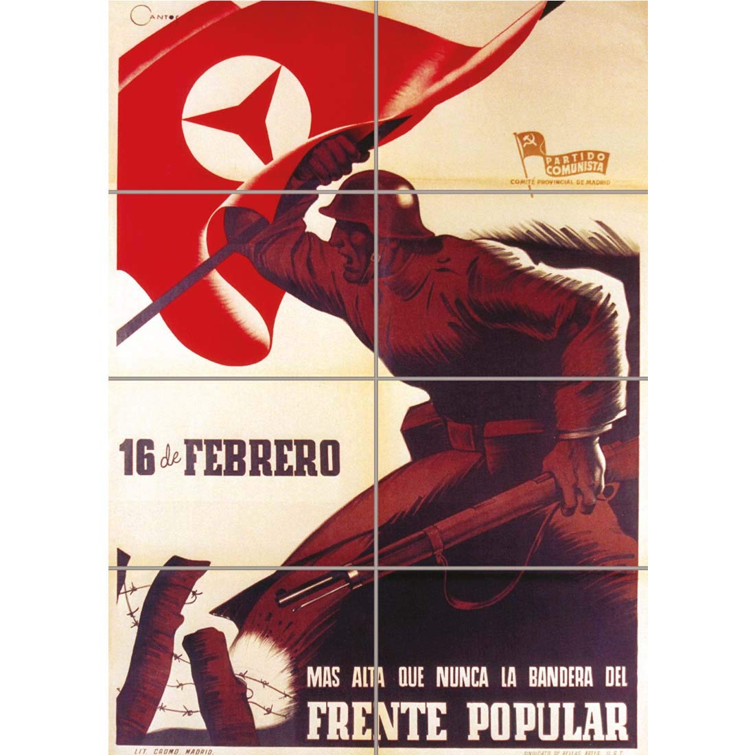 Doppelganger33 Ltd War Propaganda Spanish Civil Communist ...