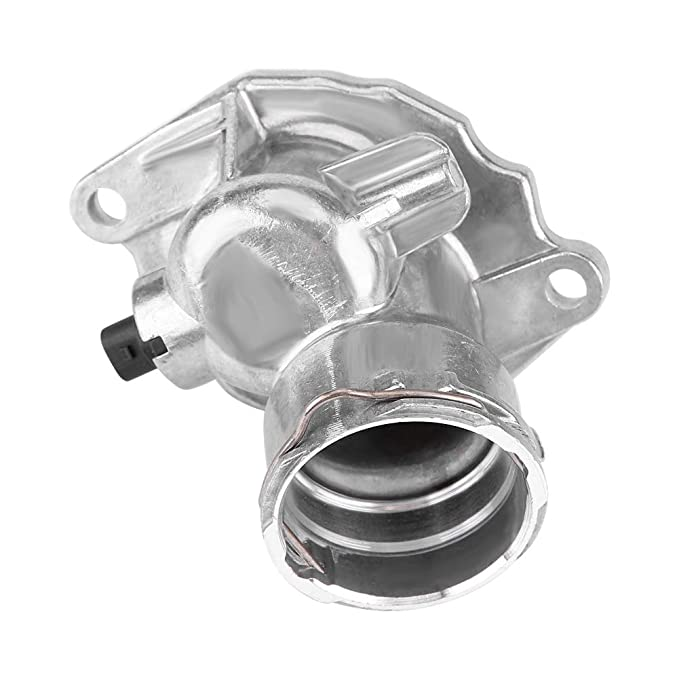 Cuque Car Engine Cooling Thermostat Engine Coolant Thermostat Housing Assembly for Mercedes-Benz GL450 GL 450 2007 2008 2009 2010 2011 2012 2013 2722000515