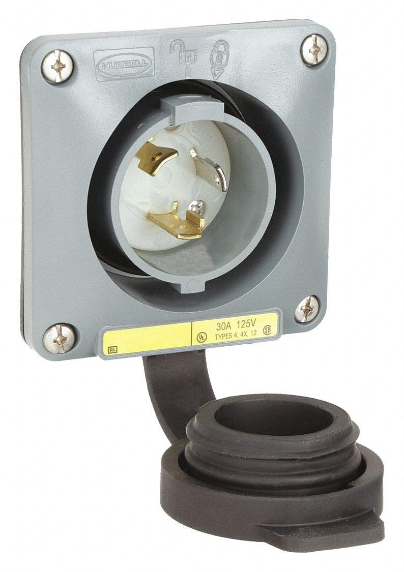 Wtertght Flanged Lcking Inlet Industrial